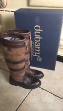 Dubarry Boots Size 5 (38) Walnut -Box Included -Hardly Worn!