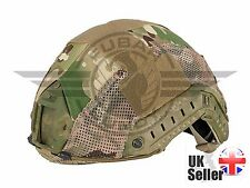 AIRSOFT EMERSON OPS CORE FAST PJ TYPE BASE JUMP HELMET COVER MULTICAM, MTP