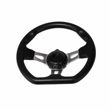 Go Kart Steering Wheel Racing Off road Sport Go kart Cart Part 270mm Black