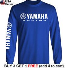 Yamaha Factory Racing T-Shirt Motorcycle Team YZ 80 85 125 250 450 R1 R6 FZR