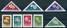 HUNGARY AUGUST.12.1958 FLOWERSET - MNH - IMPERFORATED                     Hk588