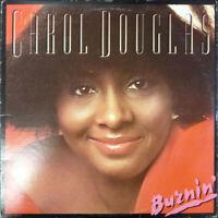 Carol Douglas - Burnin' (Vinyl LP - 1978 - US - Original)