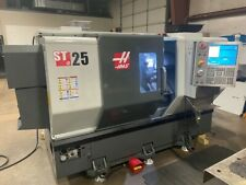 Haas St25 Cnc Lathe With Chip Conveyor Usb Rigid Tap And 12 Position Bot Turret