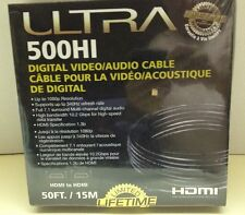 ULTRA-Male to Male~500HI~50' Plasma Flatscreen TV HDMI Cable ULT40098-BRAND NEW