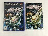 Playstation 2 PS2 VF Whiplash UNIQUEMT boite vide notice PAS DE JEU  Envoi suivi