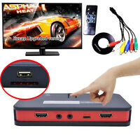 HD 1080P HDMI Video Capture Game Record to USB U Disk SD For XBOX PS4 TV STB Box