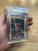 Michael Jordan BGS 6.5 Fleer All Star ICONIC DUNK INVEST Man Cave 1988 Collector