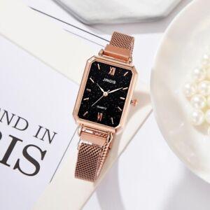 Women Magnetic Starry Sky Watch Luxury Women Watches Fashion Rectangul NEW
