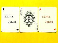 3 Witch Symbol & Extra Jokers Single Swap Playing Cards Triple Joker Set