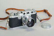 Leica IIIf Black Dial with 50mm f/2 Summitar Lens