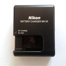 MH-25 Charger For Nikon EN-EL15 Battery MB-D11 V1 D600 MB-D12  D800 D800E  D7000