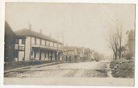 RPPC Street View HAZEL HURST PA McKean County Hazelhurst Real Photo Postcard