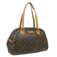 LOUIS VUITTON MONTORGUEIL PM SHOULDER BAG PURSE MONOGRAM M95565 32453