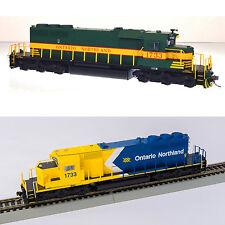 Bowser Ontario Northland ONR SD40-2 #1733 Locomotives - DCC Sound - HO Scale