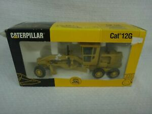 NEW Caterpillar Cat 12G Road Motor Grader 1/50 Scale Joal Made In Spain