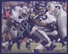 Seahawk Malcolm Smith Super Bowl MVP vs Raiders Autograph B Silver Pen