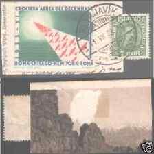 B05 CROCIERA AEREA DECENNALE 1933 ANNULLO Reichiavic REYKJAVIK su Frammento RRR
