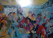Leroy Neiman Poster PARIS: SIDEWALK CAFE European vintage Plate-signed rare art