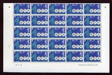 PITCAIRN 1968 MICROSCOPE WHO 2c MINT SHEET of 50 stamps