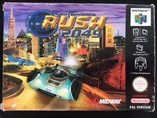 Nintendo 64 : San Francisco Rush 2049 N64 CIB