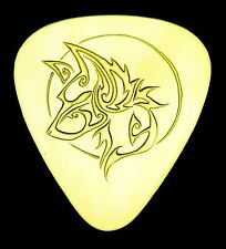WOLF -Solid Brass Guitar Pick,Acoustic,Electric,Mandolin,Bass