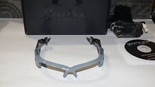 01-014 F Oakley O Rokr Pro Polished Bluish Grey and Black Frame Only NWT