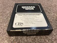 Wizard Of Wor - Atari 2600 / Atari 7800 VCS Game Cartridge Tested/Working