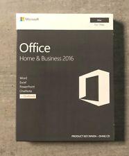 MS Office 2016 Home and Business PKC Vollversion deutsch für MAC W6F-00963