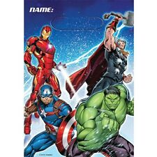 AVENGERS EPIC LOOT BAGS PK8 BIRTHDAY PARTY SUPPLIES