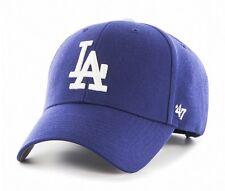 Los Angeles Dodgers 47 Brand MVP Clean Strap Adjustable Field Blue Hat Cap MLB