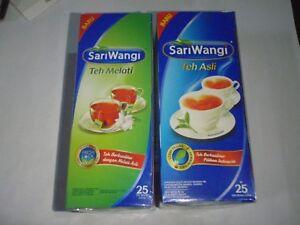10 Box Sariwangi Teh Asli & Melati Real Tea & Jasmine Tea Tasty FREE AirMail