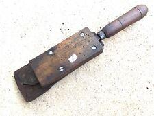 (n°1 ) old tool , OUTIL ANCIEN XIXe A DÉTERMINER / INSOLITE  ART POPULAIRE  ++++