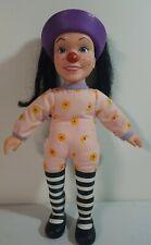 "Rare Vintage 1997 Playmates Toys Big Comfy Couch Loonette 15"" Plush & Vinyl Doll"