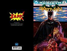 BATMAN V3 #1 2016 ZAPP EXCLUSIVE TONY HARRIS COLOR VARIANT IN-STOCK!