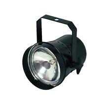 PINSPOT PAR 36 30W Nero Lanterna adatto per MIRRORBALL include Lampada fase DJ