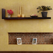 Onlineshoppee Beautiful Wooden Fancy Wall Decor Rack Shelves (LxBxH-30x6X12)Inch