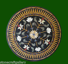 """36"""" x 36"""" Coffee Table Top Stone Inlay Pietra dura Art Work For Home Decor"""