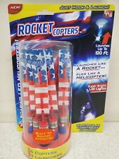 Rocket Copters  NEW As Seen On TV  Launching Toy