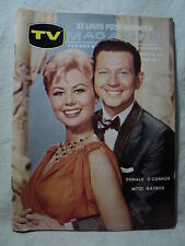 October 9 1960 St. Louis Post TV Guide  Magazine DONALD O'CONNOR & MITZI GAYNOR