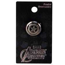 Marvel Avengers Captain America Shield Pewter Lapel Pin