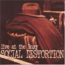 Social Distortion - Live At The Roxy NEW CD