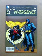 CONVERGENCE #5 JEROME OPEÑA 1:25 VARIANT COVER NM- 1ST PRINTING BATMAN & ROBIN