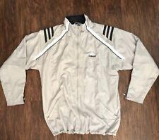 Adidas Men's XL Climapro Jacket Gray White Navy