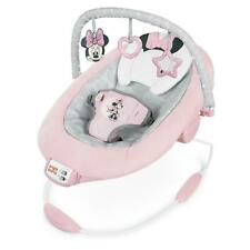 Bright Starts Disney Baby Minnie Mouse Rosy Skies Cradling Bouncer with Seat