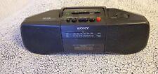 Sony Cf8-B15 Portable Am/Fm Cassette Boombox *Work Great*