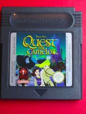 JEU NINTENDO GAME BOY @@ COLOR @@ ADVANCE @@ QUEST FOR CAMELOT @@ TEST OK