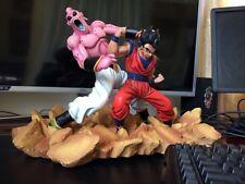 "Dragonball 12"" Goku Son Goh Vs Buu Battle Resin Statue Diorama IN STOCK"