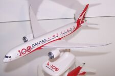 Boeing 787 DREAMLINER of QANTAS, 100TH ANNIVERSARY by HERPA Snap-Fit 1:200 B-787