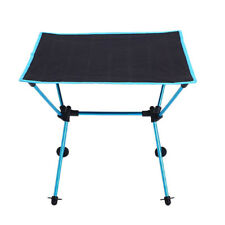 Foldable Camping Picnic Table Portable Compact for Camp Beach Outdoor Blue