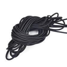 10M 4mm Durable Powerful Elastic Bungee Shock Cord Rope Marine Boat String Black